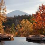 Pond and Mt Yona
